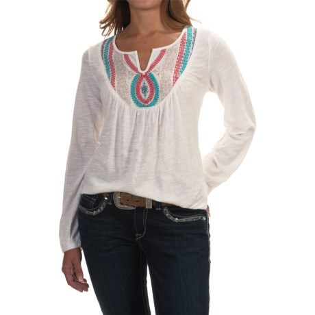 Ariat Taylor Embroidered Shirt - Long Sleeve (For Women)