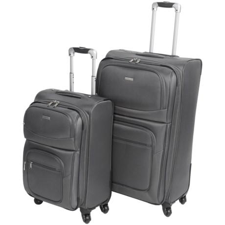 "G.H. Bass & Co. Westport 2-Piece Spinner Suitcase Set - 21"", 29"""