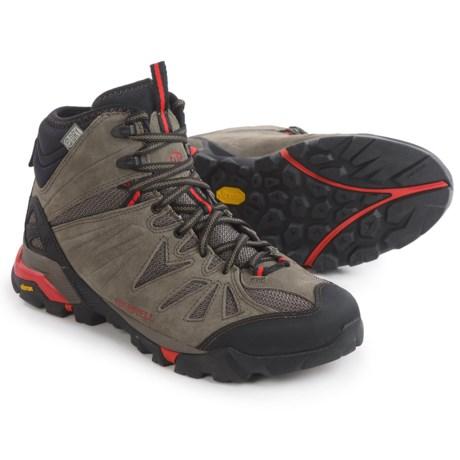 Merrell Capra Mid Hiking Boots - Waterproof, Suede (For Men)