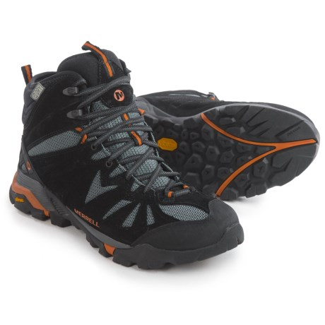 Merrell Capra Mid Hiking Boots - Waterproof, Suede (For Men)