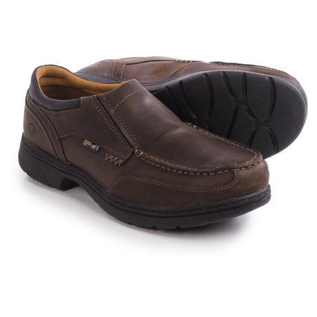 Timberland Pro Branston Moc Alloy Toe ESD Work Shoes - Slip-Ons (For Men)
