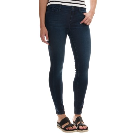 Stretch Cotton/TENCEL® Slim Ankle Jeans (For Women)