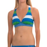 Tommy Bahama Rugby V-Neck Bikini Top - Crisscross Back (For Women)