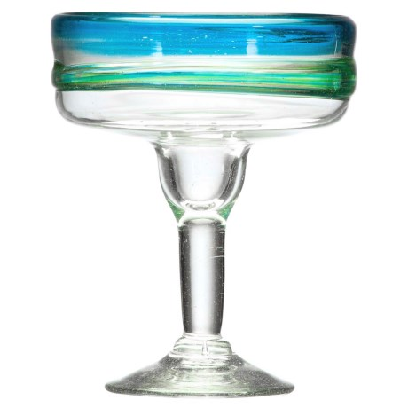 Amici Del Mar Collection Margarita Glass - 15 fl.oz., Recycled Materials