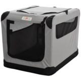 "ASPCA Portable Soft Pet Crate - Medium, 26x18x17"""