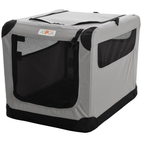 "ASPCA Portable Soft Pet Crate - Small, 21x15x15"""
