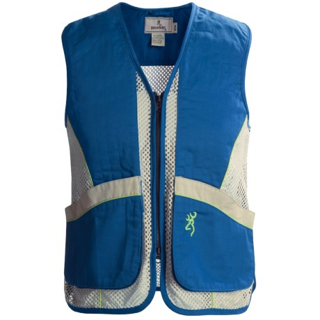 Browning Sporter Mesh Junior Shooting Vest (For Youth)