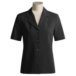Hawksley & Wight Stretch Twill Jacket - Short Sleeve (For Women)