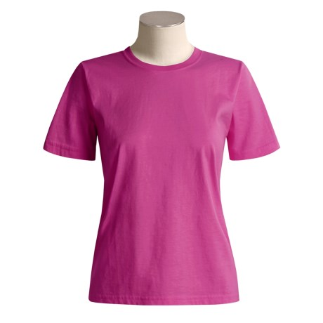 Specially made Cotton T-Shirt - Short Sleeve (For Women)