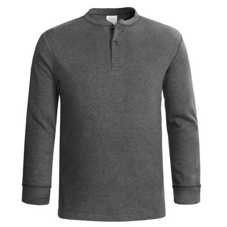 Terramar Wool-Blend Henley Shirt - Two-Layer, Long Sleeve (For Men)