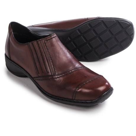 Rieker Doro 78 Shoes - Leather, Slip-Ons (For Women)