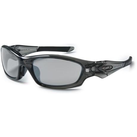 Oakley Straight Jacket Sunglasses - Iridium® Lenses