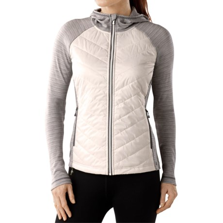 SmartWool Double Propulsion 60 Hoodie Jacket - Insulated, Merino Wool (For Women)