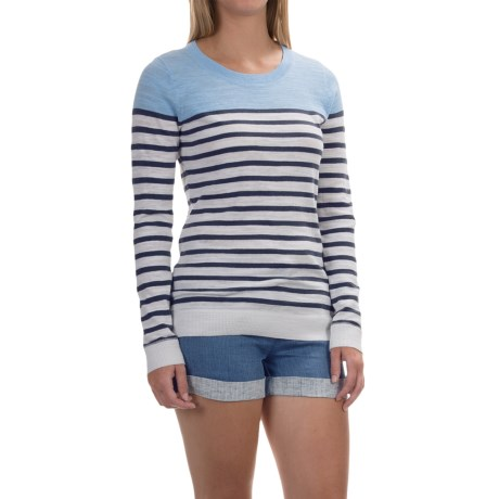 Tommy Bahama Kennett Stripe Sweater - Cotton Blend, Pullover (For Women)