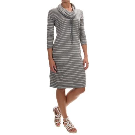 Tommy Bahama Beachwood Funnel Neck Reversible Dress - Long Sleeve (For Women)