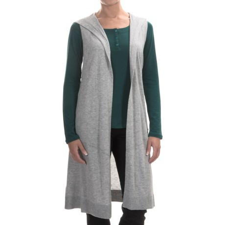 Tommy Bahama Hobar Hooded Long Vest (For Women)
