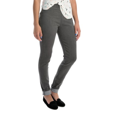 Miraclebody by Miraclesuit Thelma Stretch-Denim Leggings - Mid Rise (For Women)