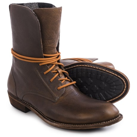 Woolrich PBR Leather Western Boots (For Men)