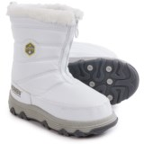 Khombu Maize Snow Boots - Waterproof, Insulated (For Little and Big Girls)