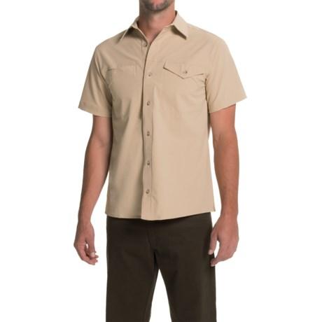 Bills Khakis Camp Shirt - Button Front, Short Sleeve (For Men)