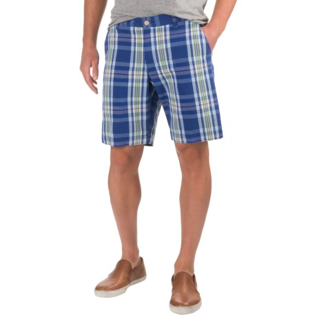 Bills Khakis Standard Issue Parker Plaid Shorts (For Men)