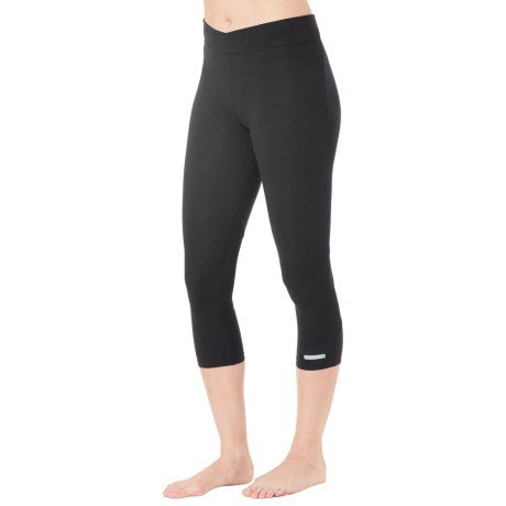 Cuddl Duds Sport Layer SofTech Core Crop Leggings (For Women)