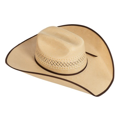 Bailey of Hollywood Dasher II Shantung Straw Cowboy Hat (For Men and Women)