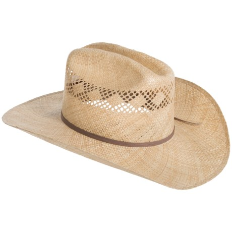 Bailey of Hollywood Tex Straw Cowboy Hat (For Men and Women)