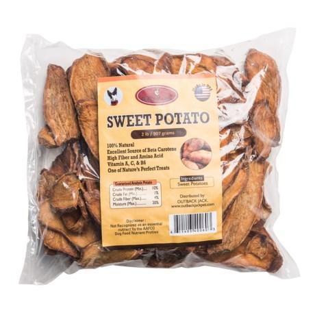 Outback Jack Sweet Potato Dog Treats - 2 lb.