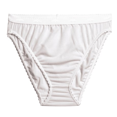 Terramar French Cut Briefs - 4-Way Stretch  (For Women)