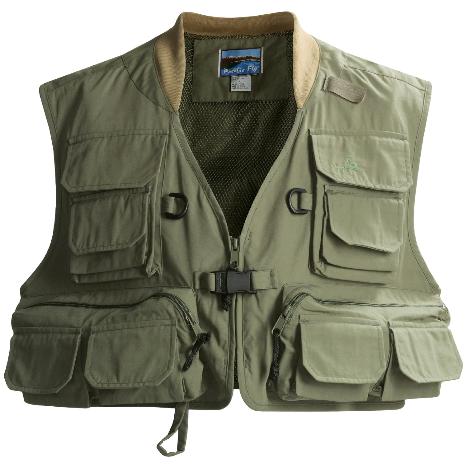 Pacific fly guide fly fishing vest for men 1567f save 50 for Fly fishing vest