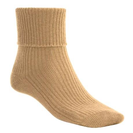 Johnstons of Elgin Cashmere Bed Socks (For Women)