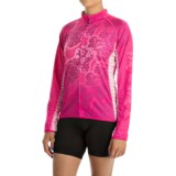 Canari Autumn Cycling Jersey - UPF 30+, Full Zip, Long Sleeve (For Women)