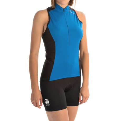 Canari Fay Cycling Jersey - UPF 30+, Zip Neck, Sleeveless (For Women)