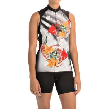 Canari Daenarys Cycling Jersey - UPF 30+, Full Zip, Sleeveless (For Women)