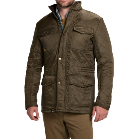 Barbour Kendle Quilted Jacket - Fleece Lined (For Men)