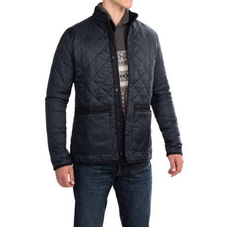 Barbour Liddesdale Quilted Jacket - Insulated, Tweed Trim (For Men)