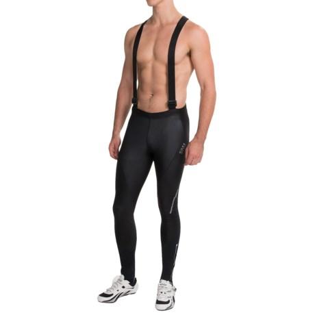 Gore Bike Wear Phantom Soft Shell Cycling Bib Tights - Windstopper® (For Men)