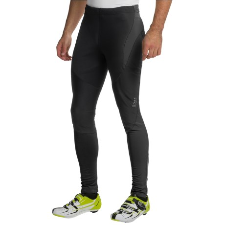 Gore Bike Wear Contest Soft Shell Cycling Tights - Windstopper® (For Men)