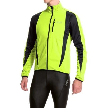 Gore Bike Wear Contest Soft Shell Cycling Jacket - Windstopper® (For Men)