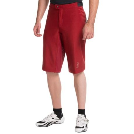 Gore Bike Wear Alp-X Soft Shell Mountain Bike Shorts - Windstopper® (For Men)
