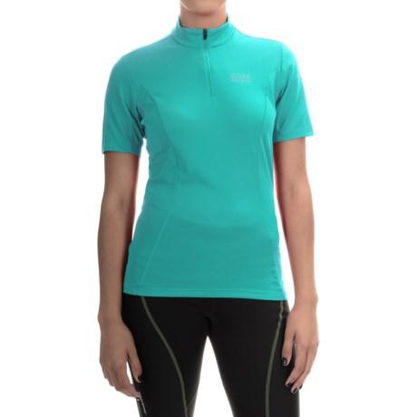 Gore Bike Wear Element Cycling Jersey - Zip Neck, Short Sleeve (For Women)