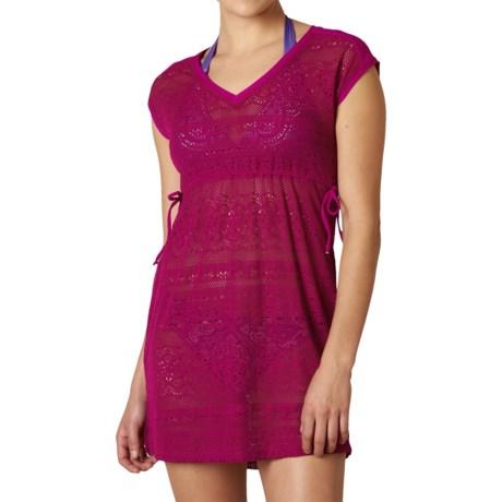 prAna Elliot Swimsuit Cover-Up Dress - Short Sleeve (For Women)