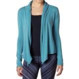 prAna Georgia Wrap Cardigan Sweater - Organic Cotton (For Women)