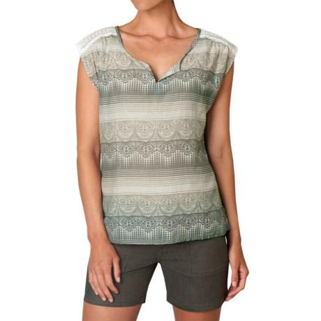 prAna Illian Shirt - Short Sleeve (For Women)