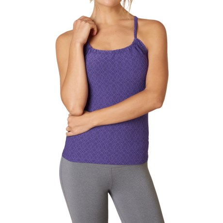 prAna Quinn Jacquard Tank Top - Built-In Shelf Bra (For Women)