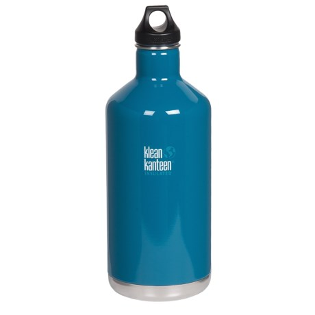 Klean Kanteen Vacuum-Insulated Classic Water Bottle - 64 fl.oz.