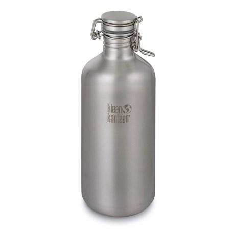 Klean Kanteen Growler Bottle - 64 fl.oz., Stainless Steel