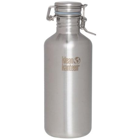 Klean Kanteen Growler Bottle - 40 fl.oz., Stainless Steel