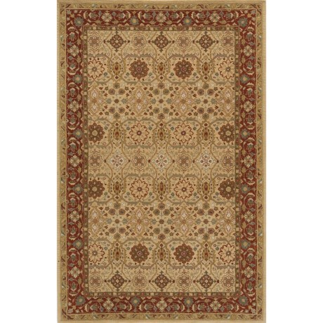 """Momeni Zarin Collection Area Rug - 5'6""""x8'6"""", Hand-Tufted Wool"""